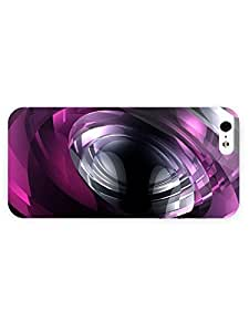 Free Shipping iPhone 5/5s Case Abstract Eye39 with Full Wrap
