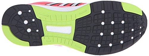 Adidas Performance cero rebote W zapatos corrientes, negro / plata / blanco, 5 M US Shock Red/Iron Metallic Grey/Black