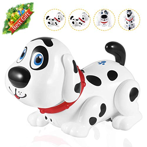 Electronic Dog,Interactive Puppy, Touch with Chasing, Walking, Dancing, Music, Interactive and Induction Toys for Boys or Girls Birthday Gifts