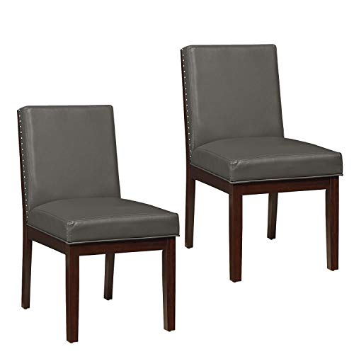 Standard Furniture 10565 Couture Elegance Side Chair 2-Pack, - Dining Bay Chair Standard