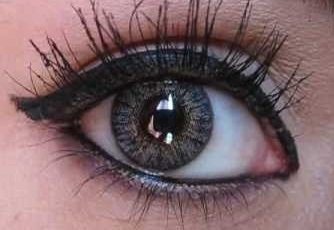 Beautiful New Smoky Gray Eyes (Halloween Eye Contact Lenses)