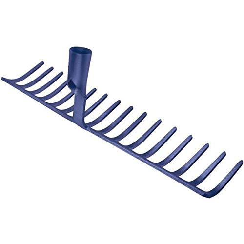 Idealspaten WEG10841 R/âteau /à Cailloux Sieger 45 cm Bleu