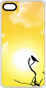 Bird On A Twig In The Golden Sunshine Clear Rubber Case for Apple iPhone 4 or iPhone 4s