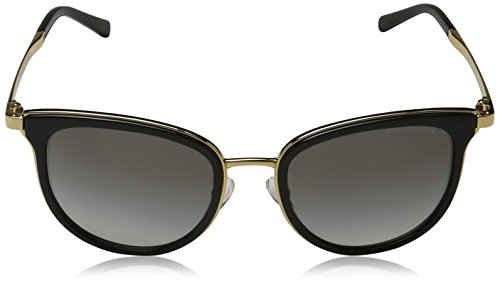 Michael Kors Women's Adrianna I MK1010 Black/Gold Sunglasses