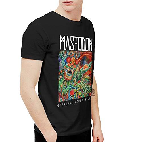 BowersJ Mastodon Once More Round The Sun Men's T Shirts Black 5XL (Mastodon Once More Round The Sun Vinyl)