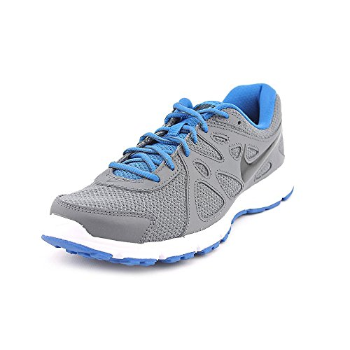 buy online 386da 01d95 Nike Mens Revolution 2 Running Shoe (9, Dark Grey Military Blue White Black)  - Buy Online in Oman.   Shoes Products in Oman - See Prices, Reviews and  Free ...
