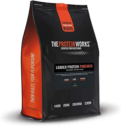 Protein Pancake Mix / NATÜRLICH / von THE PROTEIN WORKS / 500g/ Enthält eine Mischung aus drei Proteinen - Whey-, Milch- und Eiprotein.