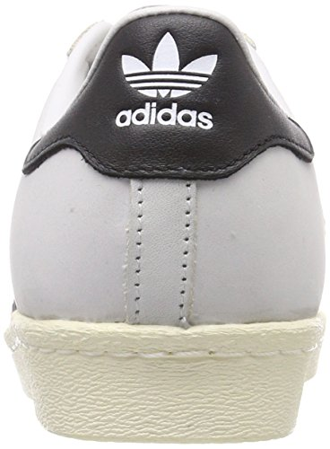 adidas Superstar 80s W, Sneaker a Collo Alto Donna Bianco (Ftwbla / Negbas / Blacre 000)
