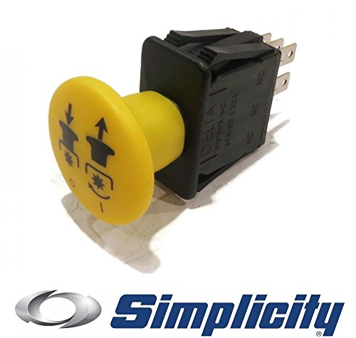 The ROP Shop Genuine OEM PTO Switch for Simplicity Axion Baron XL Broadmoor Champion Citation