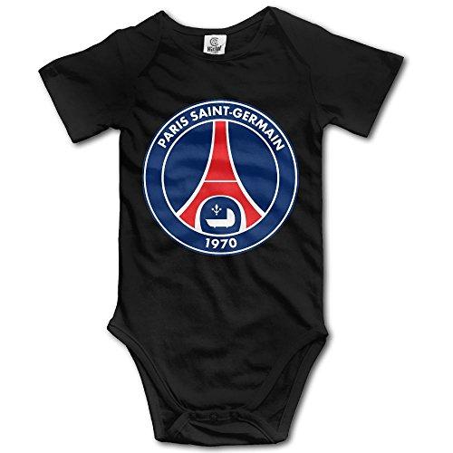 Price comparison product image Paris Saint-Germain Soccer Cotton Bodysuit Romper Onesie Jumpsuit Baby Clothes