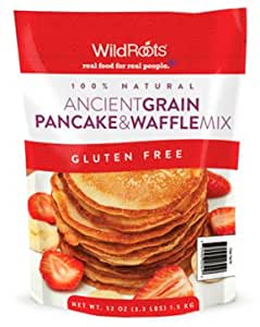 Wild Roots Ancient Grain Pancake & Waffle Mix Gluten Free 3.3 lbs.