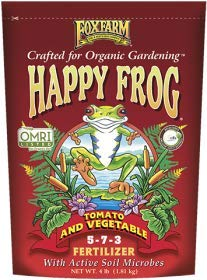 FoxFarm FX14059 FoxFarm Happy Frog Tomato and Vegetable -