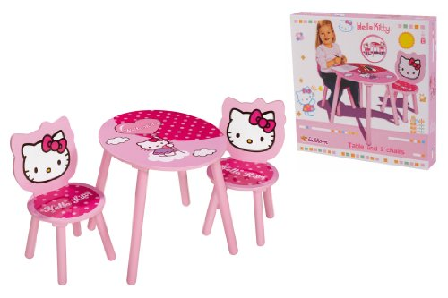 Tavolino Hello Kitty.Hello Kitty Table And Chair Set Amazon Co Uk Kitchen Home
