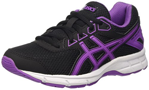 Asics Gel-Galaxy 9 Gs, Zapatillas Unisex Niños Negro (Black/Orchid/White)