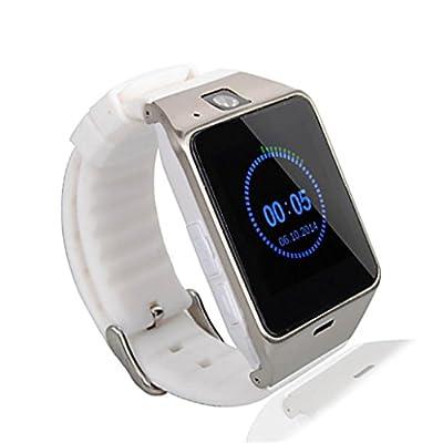 Geelyda Aplus GV18 Bluetooth phone GSM NFC Camera Waterproof Smart Watch for iPhone 4/4s/5/5s/6/6s 6 6s plus,iPad 3/4/5/6 Plus,Andriod IOS Samsung,HTC,Sony,LG,HuaWei,ZTE,OPPO ,Vivo (Black)
