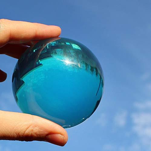 - DSJUGGLING Aqua Acrylic Contact Juggling Ball - 76mm (3 Inches) -Blue