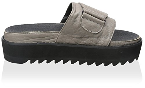 Slide Women's Leather Intentionally Taupe Reture Blank xHPnnqI