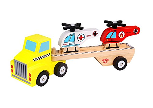 Tooky Toy Helicopter & Carrier Children Toys by Tooky Toy