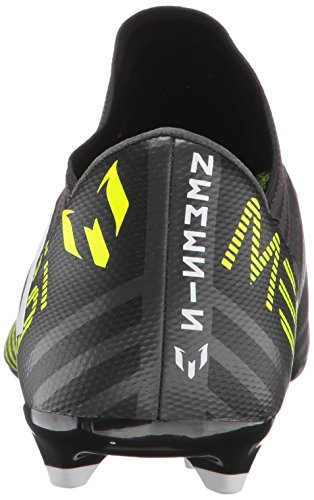 super popular c722e bad04 ... Adidas Enfants Nemeziz Messi 17.3 Fg J Football-chaussures, Noir    Blanc   Jaune ...