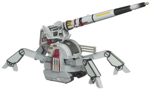 Star Wars The Clone Wars Republic AV-7 Mobile Cannon Vehicle ()