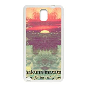 Hakuna Matata Cell Phone Case for Samsung Galaxy Note3