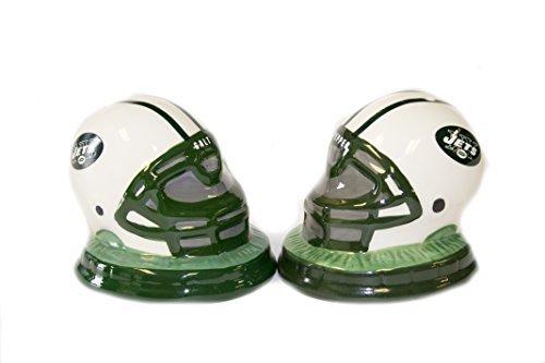 Memory Company New York Jets Helmet Salt & Pepper Shaker