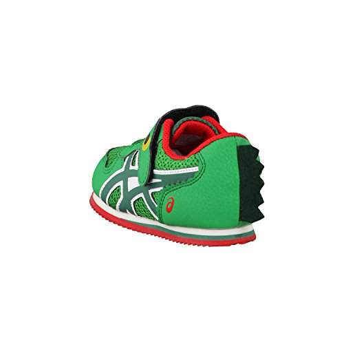 ASICS SCHOOL YARD TS 8408 ALLIGATORE GREEN RED
