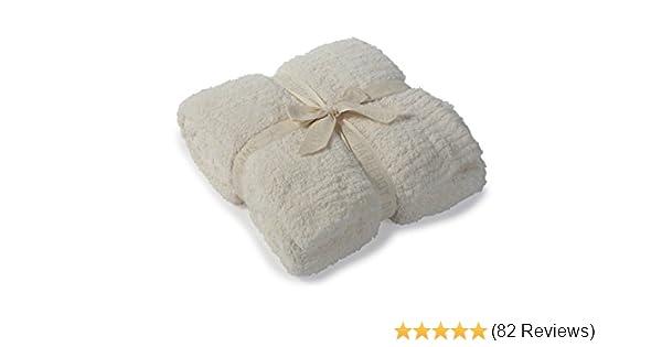 Barefoot Dream Bamboo Chic Adult Throw 54x72 Cream
