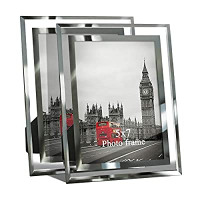 Giftgarden Wedding Glass Picture Frame for Home Decor