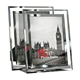 Giftgarden 5 by 7 -Inch in Picture Frame Friends Gifts for 5x7 Photo Display, Pack of 2