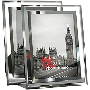 Niubee 2x6 Photo Booth Frame Clear Acrylic Desktop Double Sided