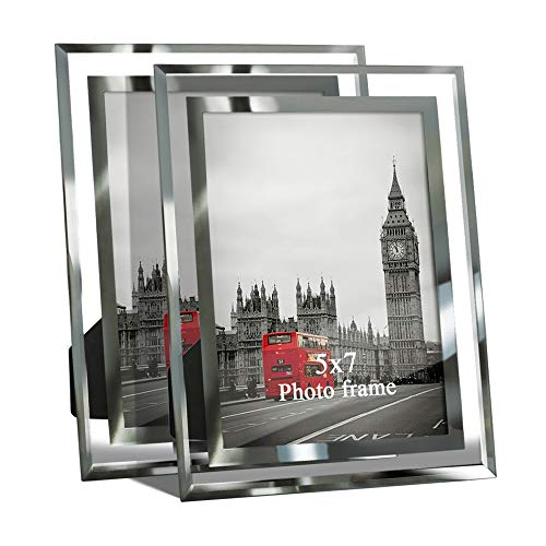 Giftgarden 5 by 7 Inch Picture Frame Friends Gifts for 5x7 Photo Display, Pack of 2