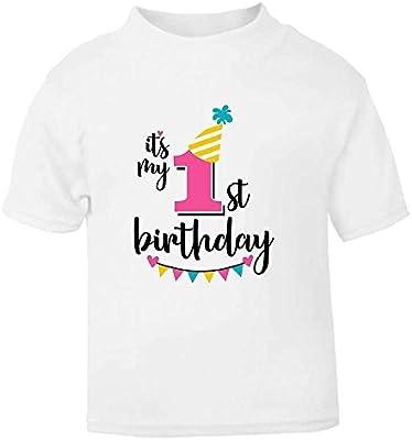 Se trata de mi 1st primer cumpleaños camiseta para niños T ...
