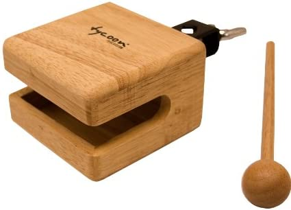 Tycoon Percussion 4 Inch Temple Wood Block