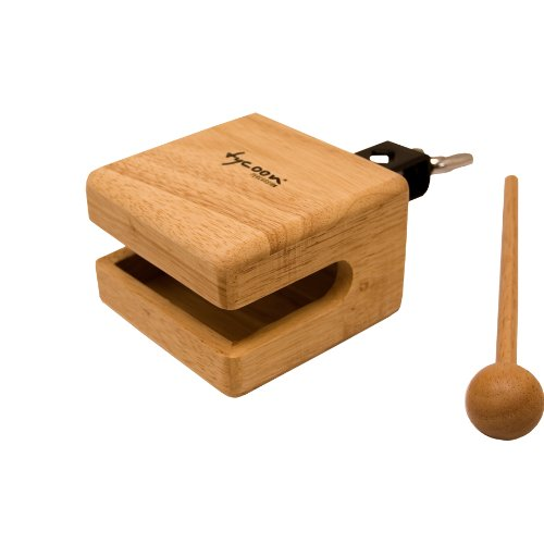 Tycoon Percussion 4 Inch Temple Wood Block - TWB-40