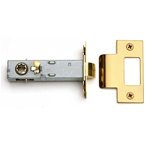 Privacy Door Latch Set Reversible Gold PVD Stainless 2 3/8