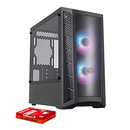 Fierce RGB Gaming PC – AMD Ryzen 5 2600 3.9GHz, GTX 1660 6GB, 16GB 3000MHz, 500GB Solid State Drive, Windows 10…