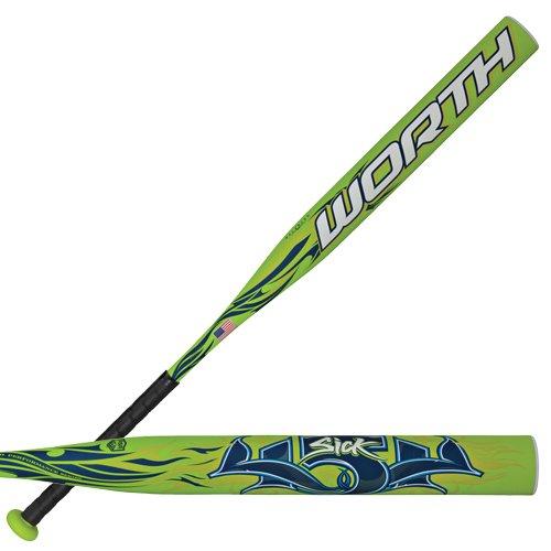 - The Worth Sick 454 Slowpitch ASA Softball Bat Green