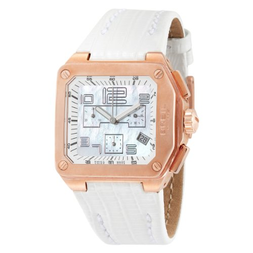 Breil Milano Women's BW0399 Logo Analog Silver Dial Watch