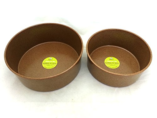 Ore' Pet Eco Bamboo Bowls Large (Set of - Originals Inc Ore