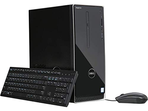 - 2018 Flagship Dell Inspiron3000 Business Desktop, Intel Quad-Core i3-8100 3.6GHz 8GB DDR4 128GB PCIe SSD + 1TB HDD DVD/CD HDMI USB Burner Bluetooth 4.0 802.11bgn MaxxAudio Pro Keyboard & Mouse Win10