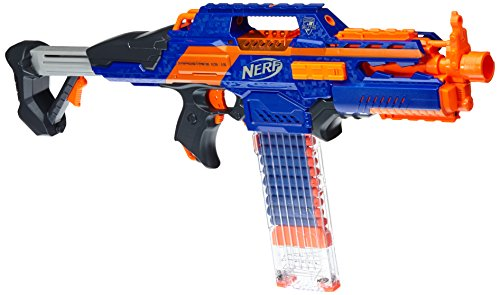 Nerf - Arma de juguete modelo Elite Counterstrike 18 (Hasbro A3901E24): Amazon.es: Juguetes y juegos