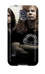 New Style 1065750K31425120 Galaxy S5 Hybrid Tpu Case Cover Silicon Bumper Megadeth