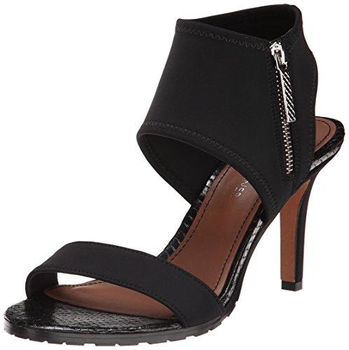 Donald J Pliner Women's Tilda Dress Sandal, Black Crepe, 9 M US