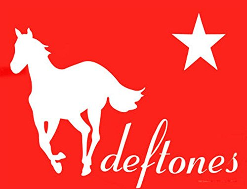 - Deftones - Red Pony Fabric Poster 40 x 30in