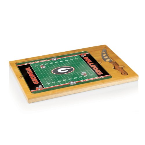 NCAA Georgia Bulldogs Icon Cheese Set (Georgia Game Day Chip)