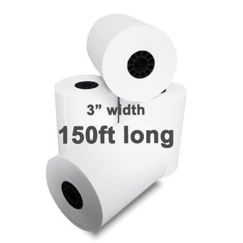 3 x 150' 1-Ply Blended Bond Paper 50 Rolls