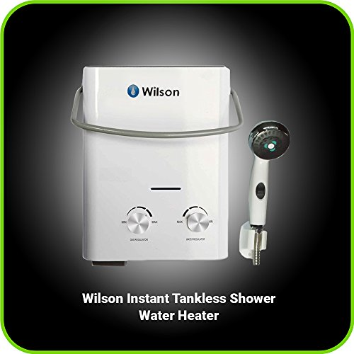 Portable Tankless Water Heater Amp Outdoor Shower 6 Liter