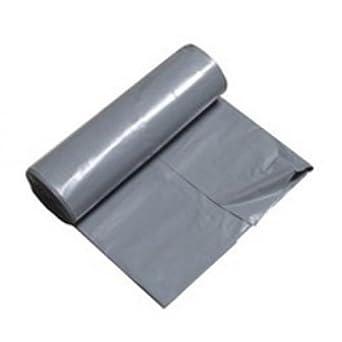 Bolsas de basura grandes DEISS 320 L, gris, extra fuerte, 50 ...