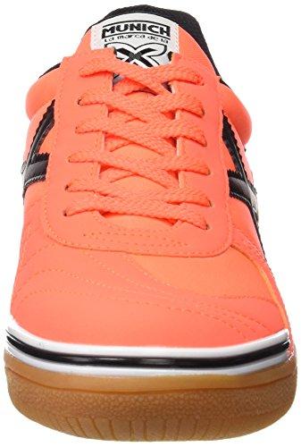Munich Unisex Adults' G3 Basic Futsal Shoes Orange 3LbZF